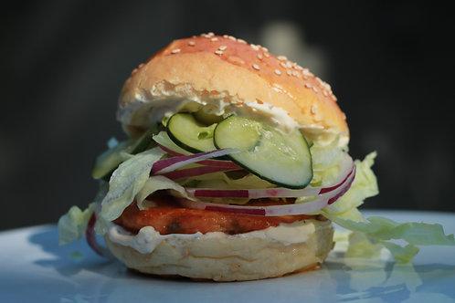 BURGER de Salmão Nórdico // Nordic Salmon