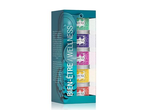 Kusmi   Wellness gift   bio   5x25g