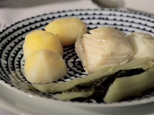 Batata Cozida   refrigerada   400g   2 a 4 pax   natal