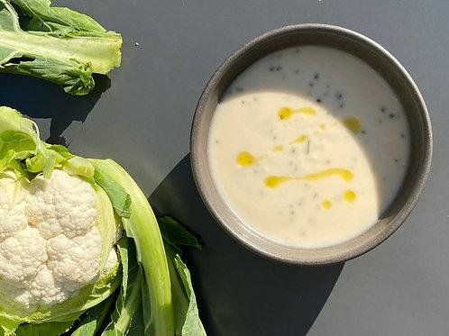 (vegan) Creme de Couve-flor sem batata | refrigerado | 400g | 2 pax