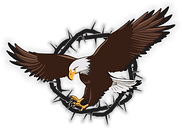 Under His Wings bedding Logo