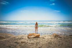 woman at the beach 3