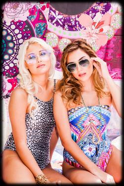 two women posing 1