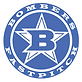 Bombers Fastpitch logo blue.png