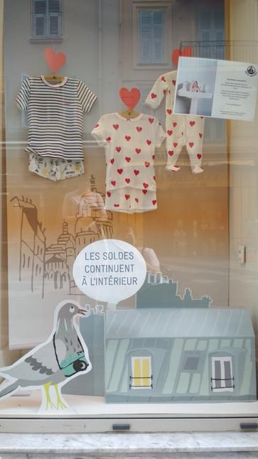 """Petit Bateau """"Nuit à Paris"""" Réseau FR-INT"""