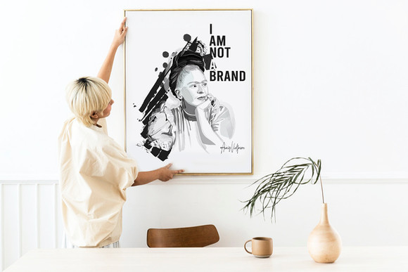 I'm not a brand - Frida