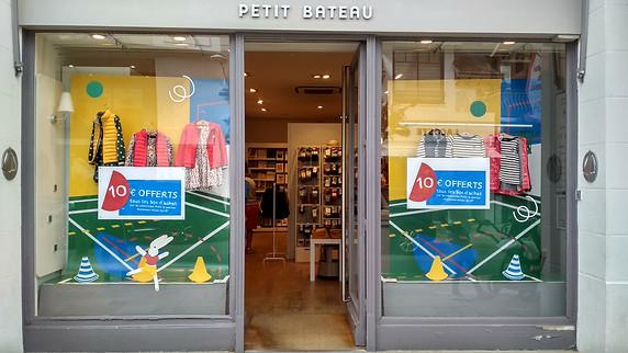 """Petit Bateau """"Rentrée des Classes 2019"""" Réseau FR-INT"""