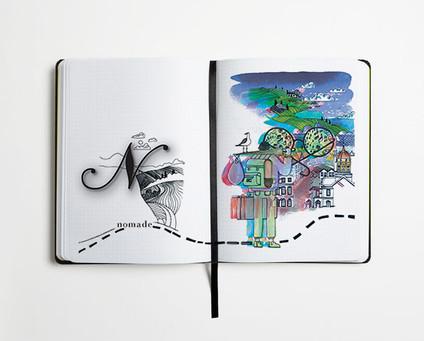 """""""Mon abécédaire du Voyage"""", Editions Nomades"""