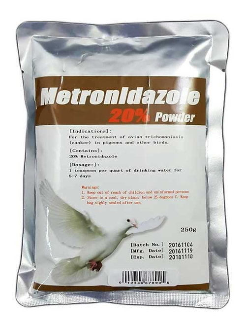 Metronidazole 20% (flagyl)