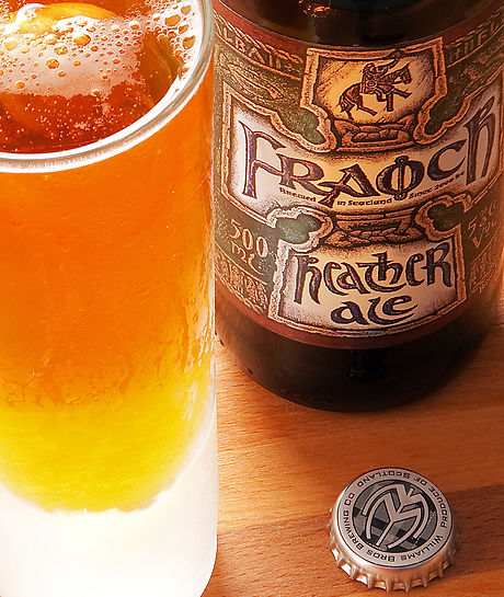 Fraoch heather ale by Williams Brothers Brewery