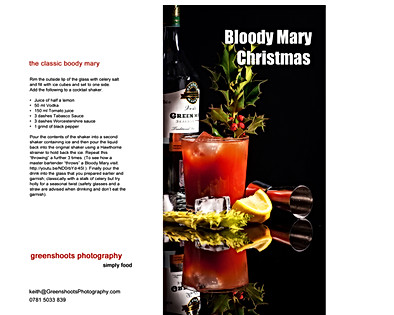 Bloody Mary Christmas