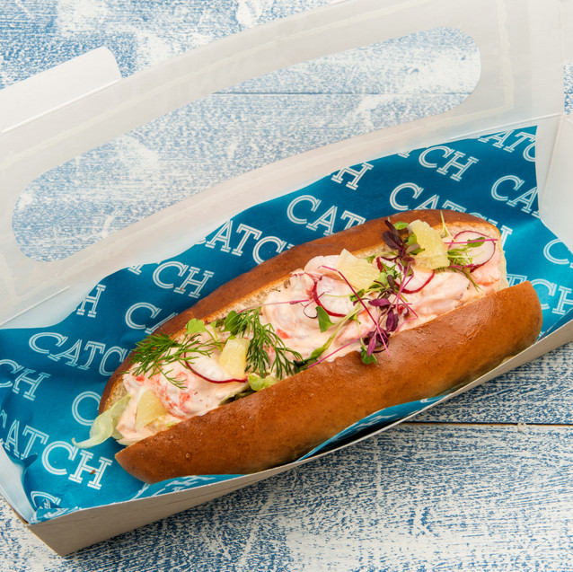 Catch lobster & prawn roll