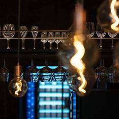 Lights and glass. Victorian & modern