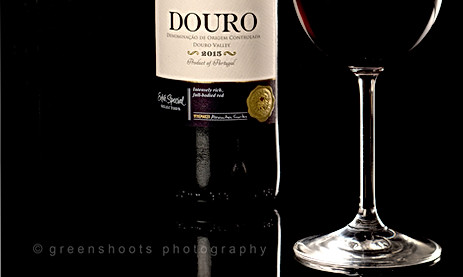 Red wine from the Douro