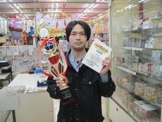 当店代表藤井さんがステチャン決定戦で準優勝!