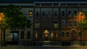 Apartment Ext Night