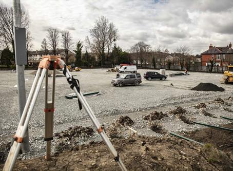 3 G Pitch Under Construction