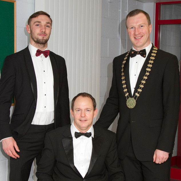 Tony Browne, Philip Quinlan and Stewart