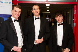 Hugh McDowell, James Moriarty and Henry