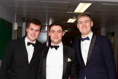 Mathew Barrett, Pearse Traynor and Micha