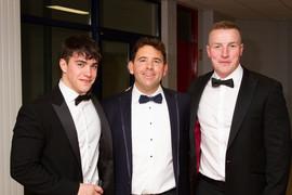 Henry Godson, Gareth Pelly and Chris Cob