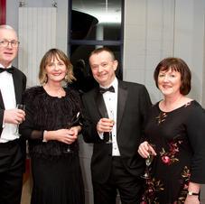 John & Colette Hughes, and David &Patric