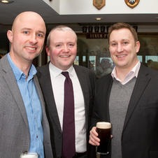 Conor Gahan Stephen O'Herlihy and Brian