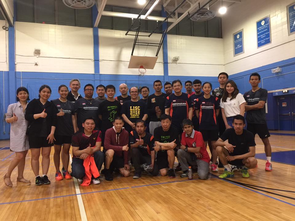 LISC Badminton Team Tournament