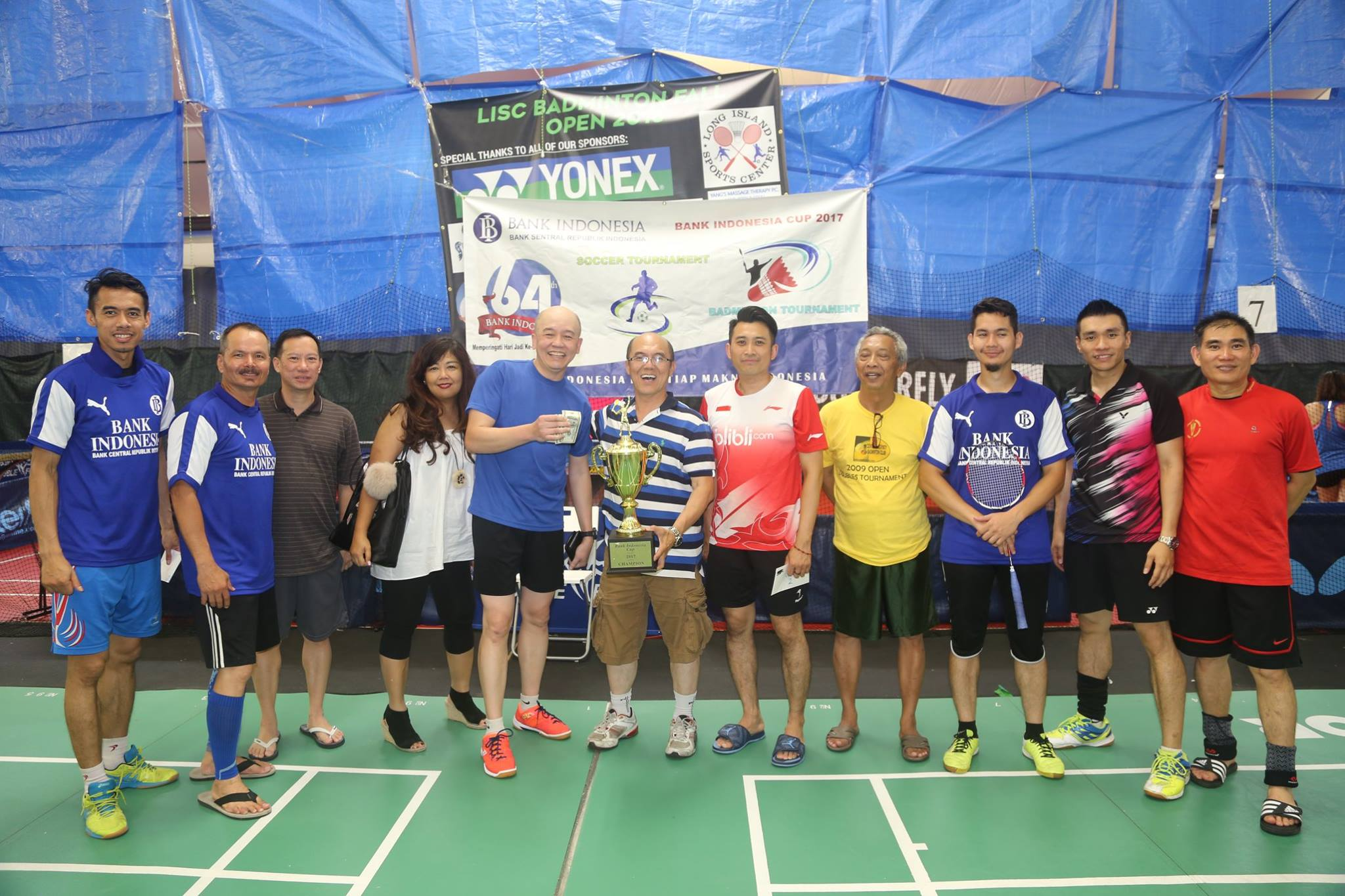 LISC B of I Badminton Tournament