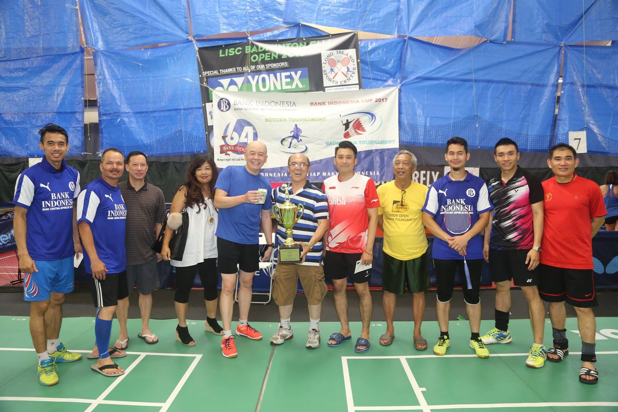 LISC B of I Badminton Tournament