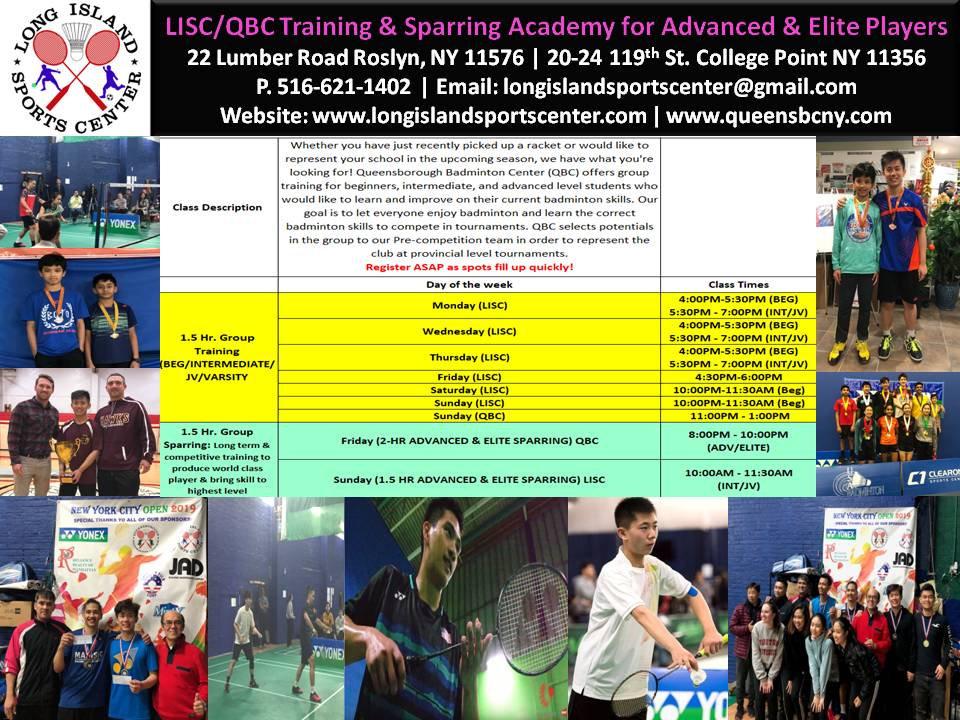 LISC Badminton Group Training Schedule.j