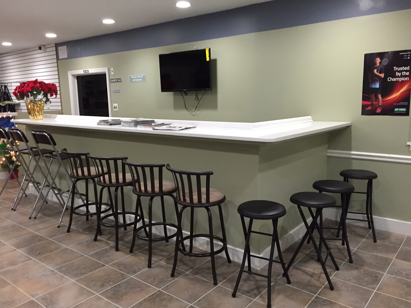 LISC Bar & Seating area
