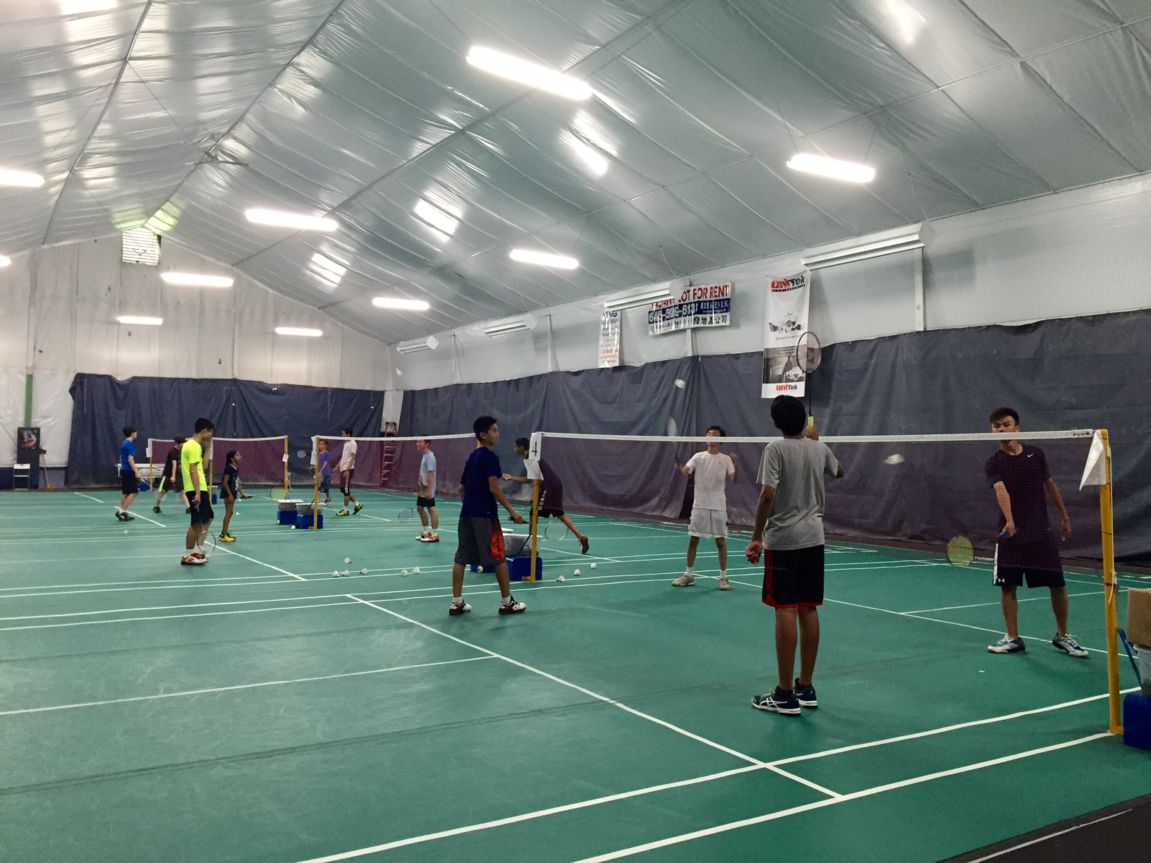 LISC Badminton Group Training
