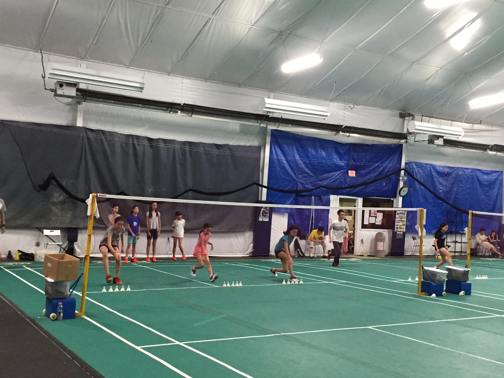LISC Badminton Group Training
