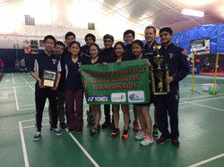 NE Collegiate Team Champs - Yale