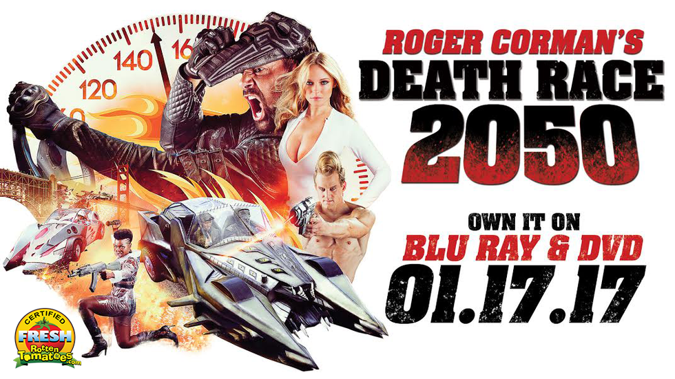 ROGER CORMAN'S DEATH RACE 2050 OUT NOW!
