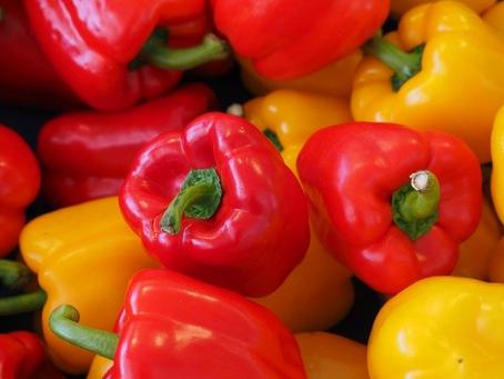 Pimentão - Reduz o colesterol sérico e é Emagrecedor