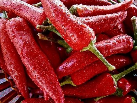 Pimenta - Combate doenças Crônicas e é Termogênica.