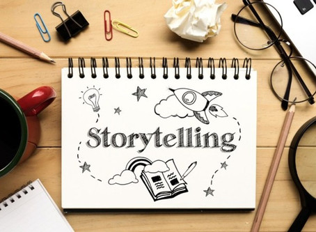 Storytelling. It's a beautiful thing.