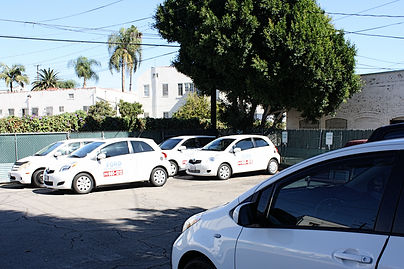 Ford Driving School Cars
