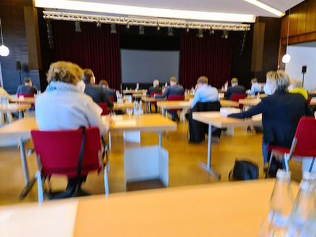 Dritte Sitzung des Kreistages