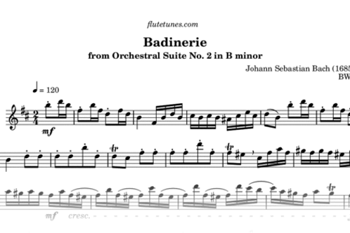 Bach Suite class handouts and recording