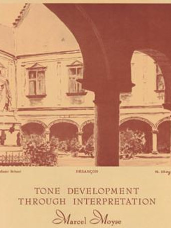 Moyse Tone Development Through Interpretation class handouts and recording