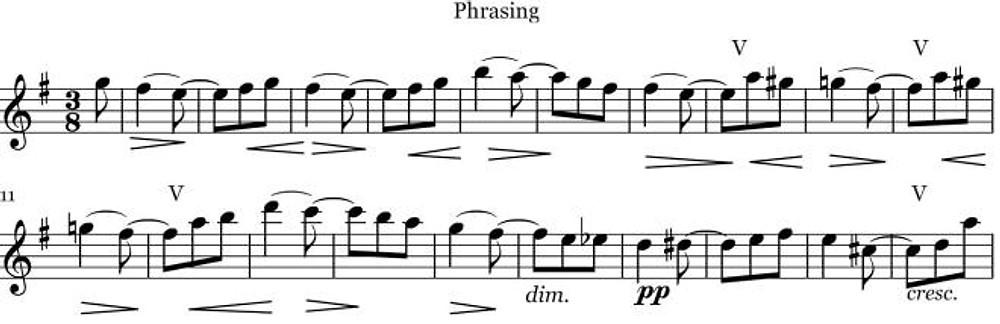 Phrasing no 3