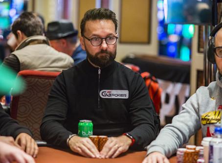 Daniel Negreanu é o bolha da mesa final do WSOP Global Casino Championship