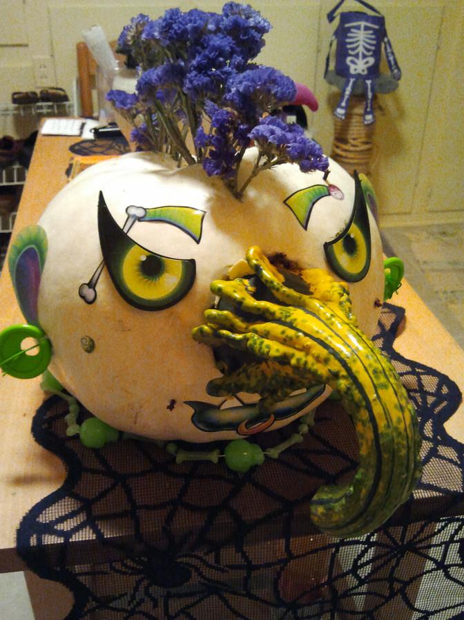 Punk pumpkin, 2011