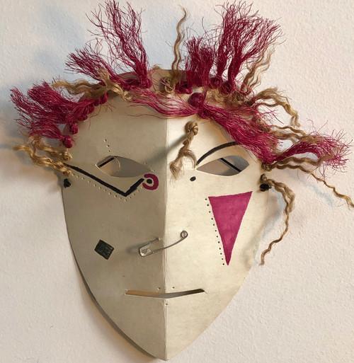 Spikey punk mask, 1992