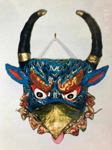 Garuda mask, 1997