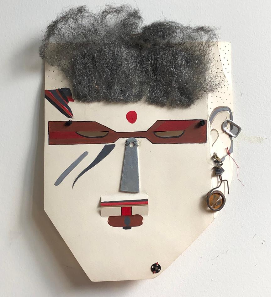 Heavy metal mask, 1992