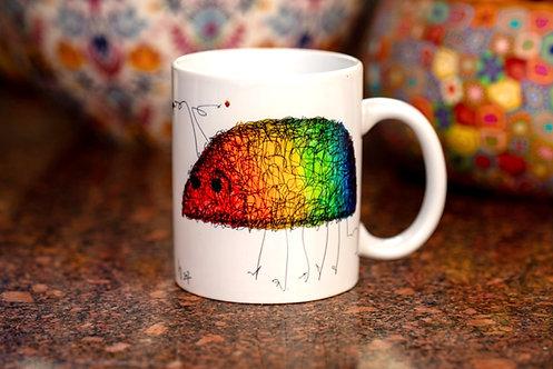 Rainbow Bug Mug